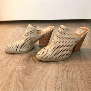 DOLCE VITA Mules Heel Boot Slides Shoes 6 6.5